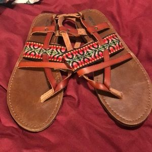 Mossimo Colorful Sandals Sz 9